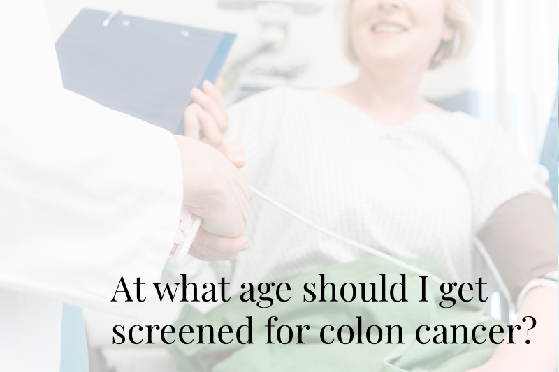 Gastroenterology Specialists Colon Cancer Screening